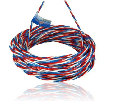 "1 m servo ""Premiunm"" wire (white/red/blue)"