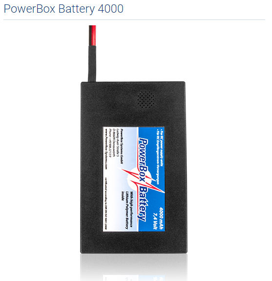 PowerBox Battery 4000
