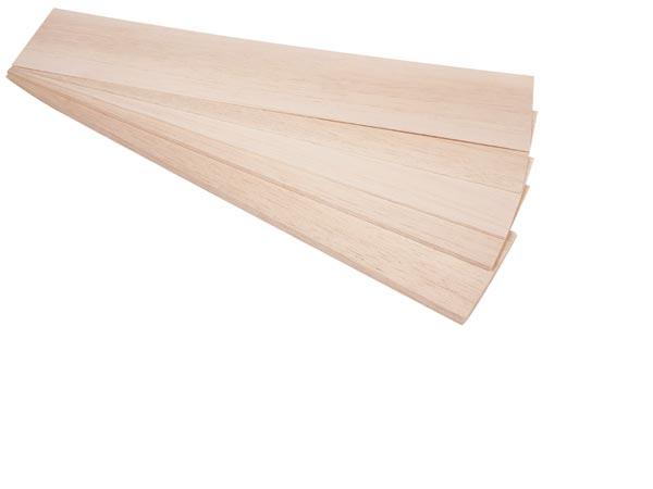 Balsa panel 6.0x100x1000 mm