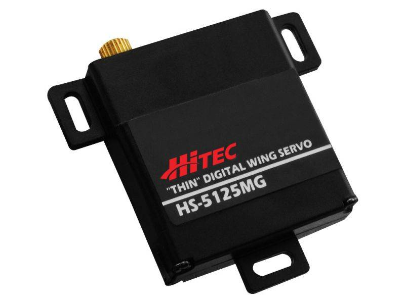 Servo HITEC HS-5125 MG Slim Metal Gear Wing Servo