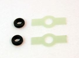 "Rubber bushing with bracket ""A"" type (2 pcs)"