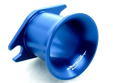 Suction funnel for carburetor WALBRO 20-80cc (blue)