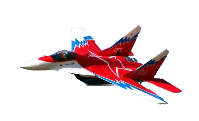 MIG 29 3D RTF Red Start SET + Gyro