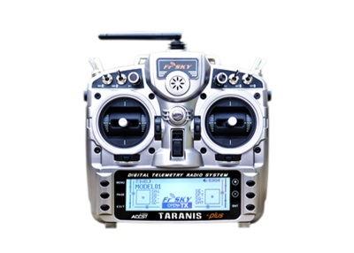 TARANIS X9D - plus EU/LBT FrSky complete set w. travel case incl
