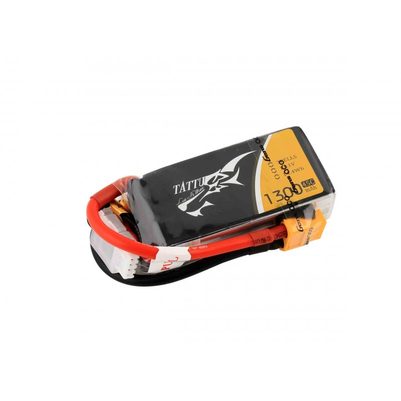 Battery LiPo TATTU 1300 mAh 4S 14,8V 75C