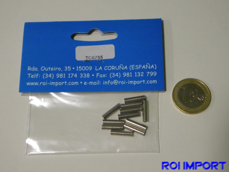 Crimping sleeves for 1.1 mm cable (10 pcs)