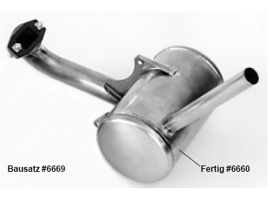 Pitts Muffler kit for CAP 21