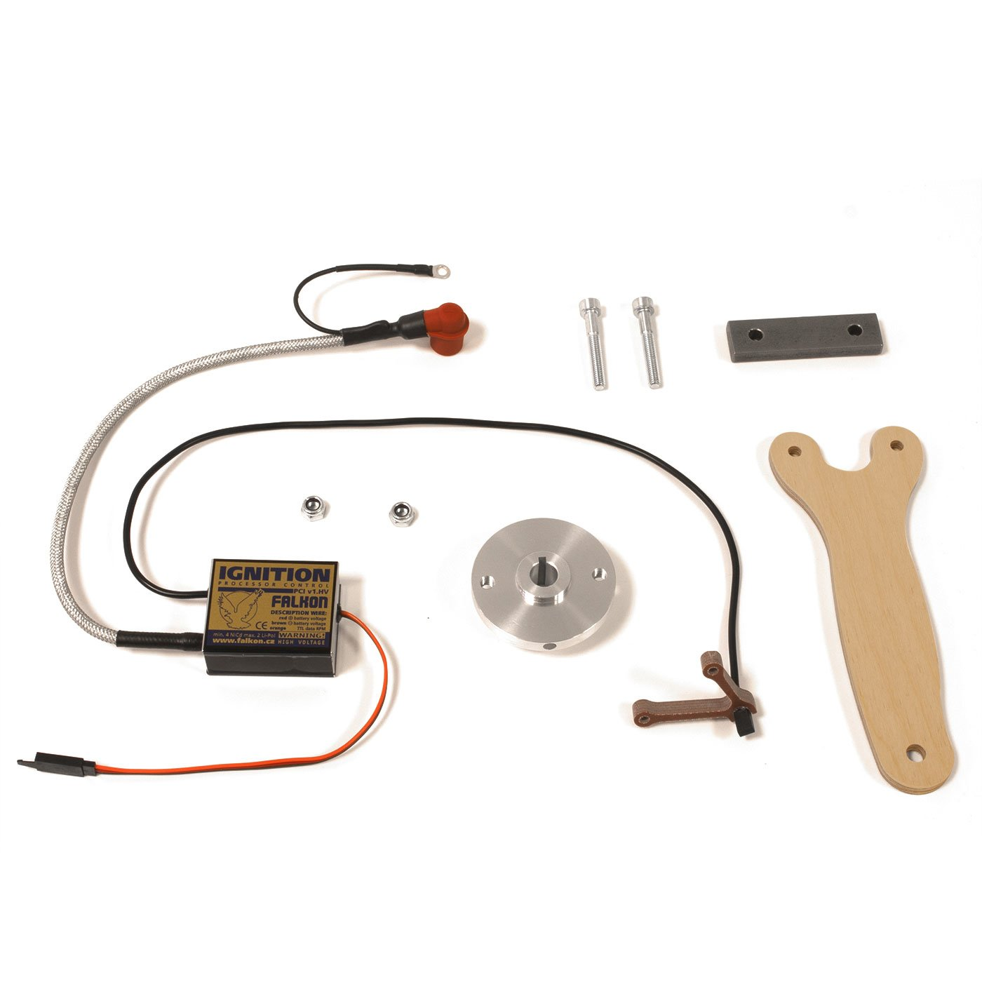 PCI-HV ignition conversion set with Zenoah rubber plug cap for Z