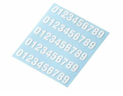 Stickers-digit for marking