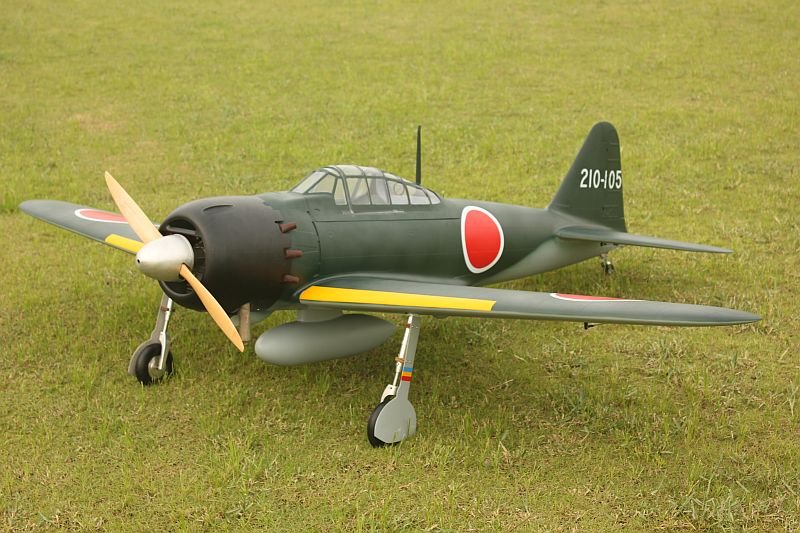 "ZERO Fighter A6M52 93"" (2362 mm)"