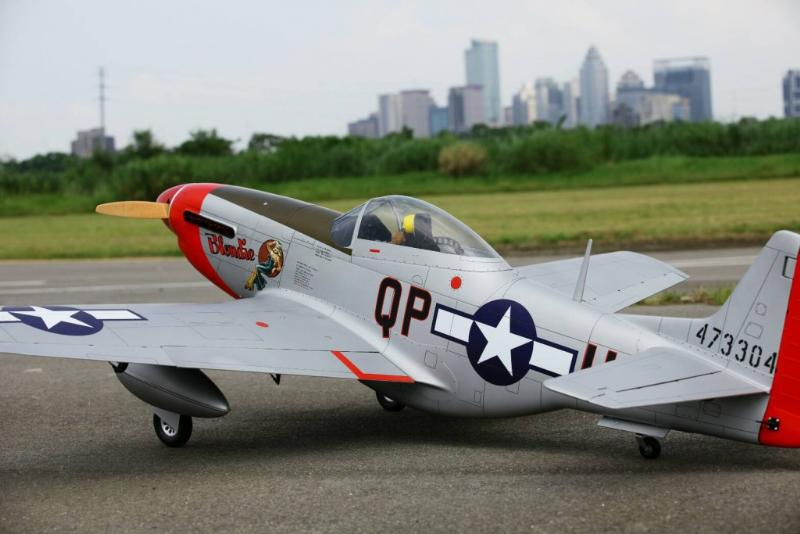 "P-51D ""Blondie"" 89"" (2260 mm)"
