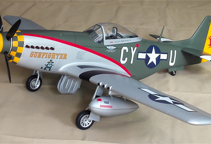 "P-51D ""Gunfighter"" 89"" (2260 mm)"