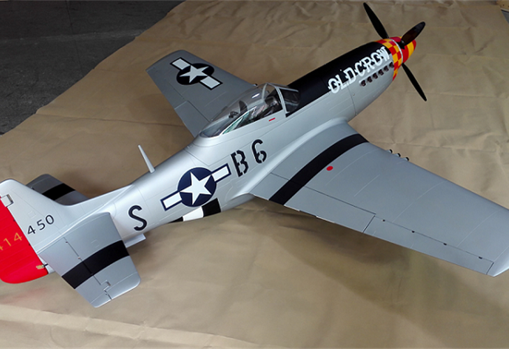 "P-51D ""Old Crow"" 89"" (2260 mm)"