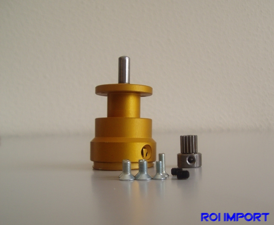 Gearbox for VM motors (2,5:1)