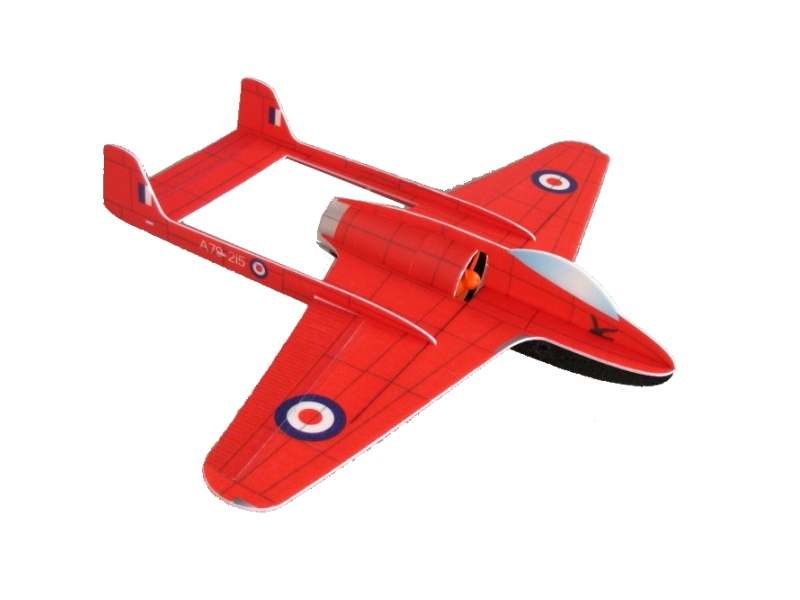 de Havilland Vampire (Rc Factory)
