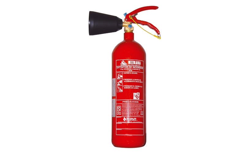 Extinguisher CO2 - 2 Kg