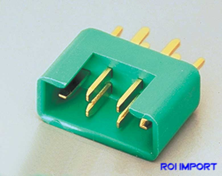 Conector MPX macho (doble PIN)