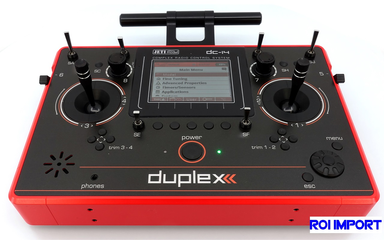 Emisora JETI Duplex DC-14 II RED Multimode