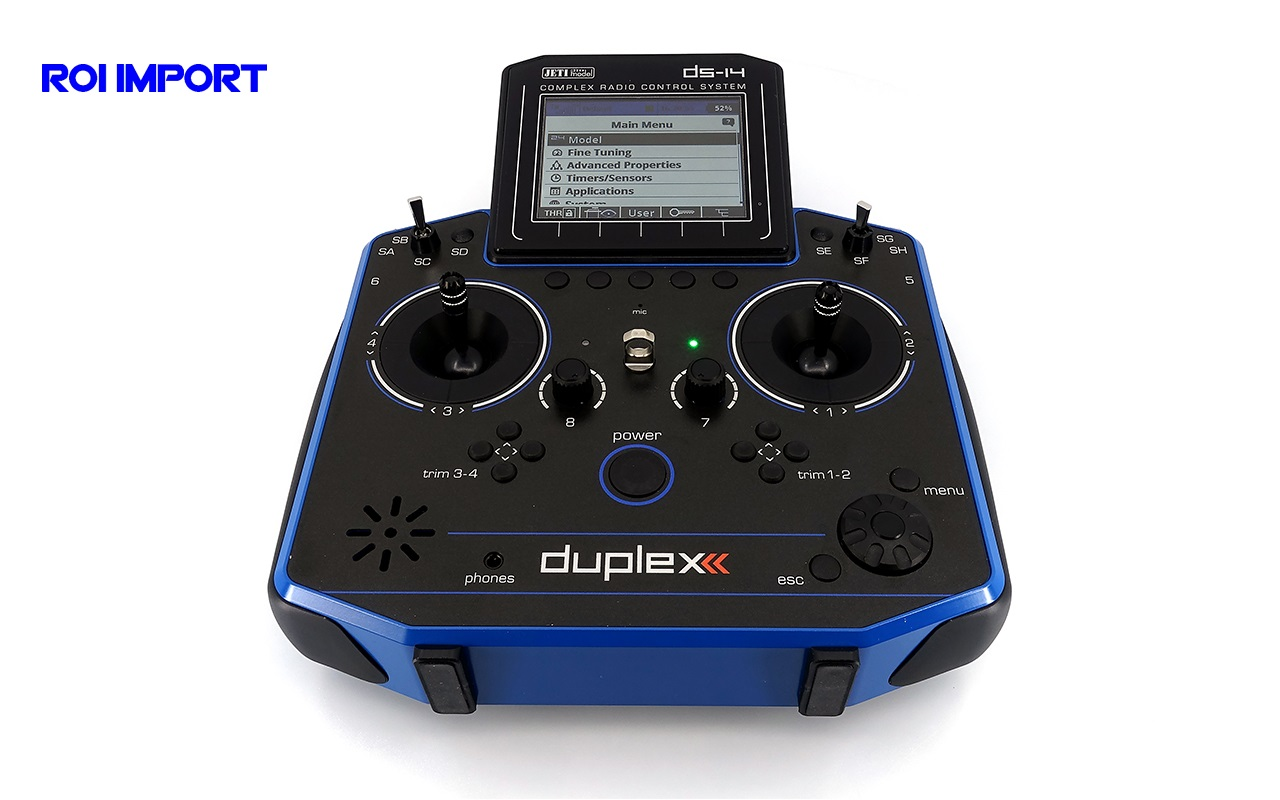 Emisora JETI Duplex DS-14 II BLUE Multimode