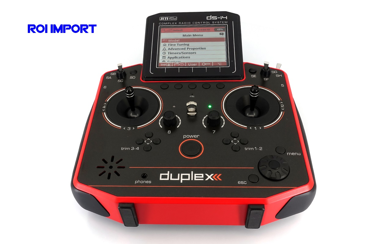 Emisora JETI Duplex DS-14 II RED Multimode