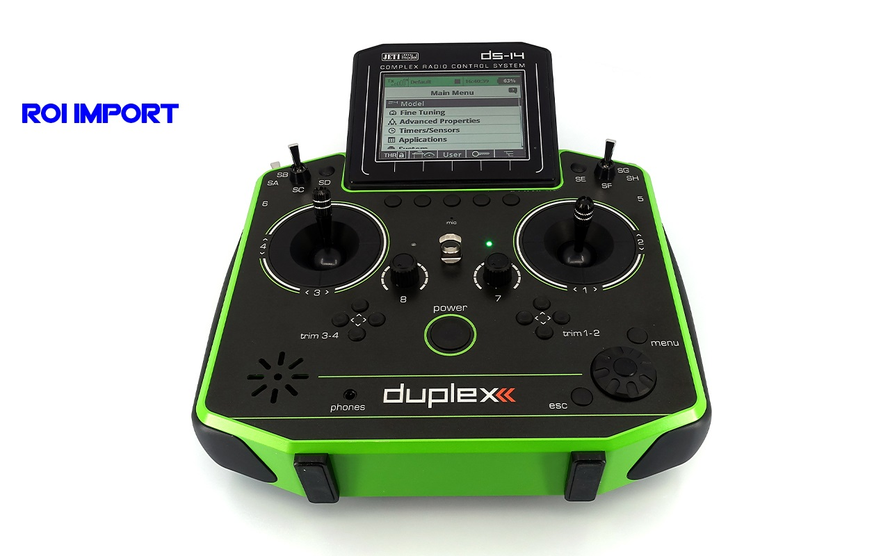 Emisora JETI Duplex DS-14 II GREEN Multimode