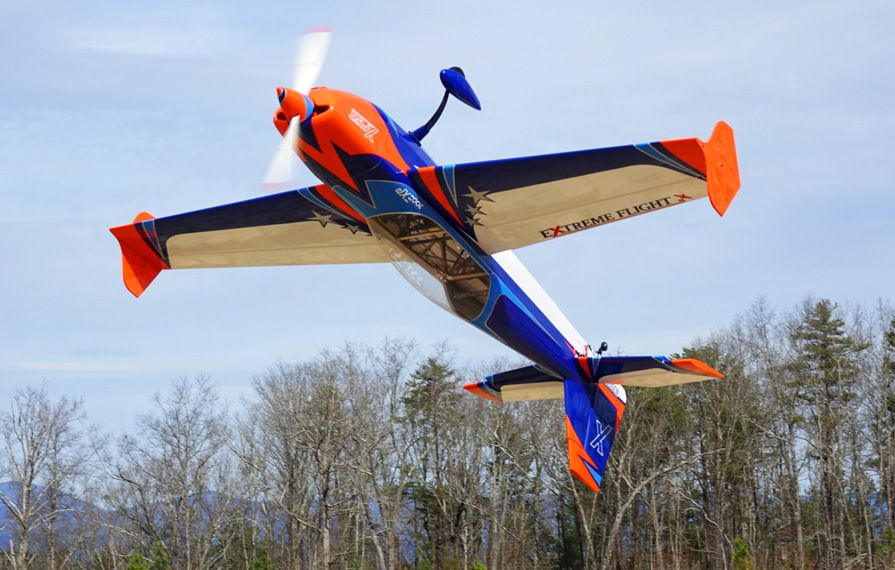 "EXTRA 300 78"" V3 Orange/Blue"