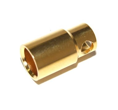Connectors banna oro 8,0 mm (Female)