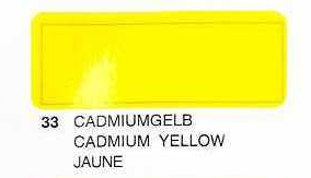 Oracover Yellow CADMIO 2 m