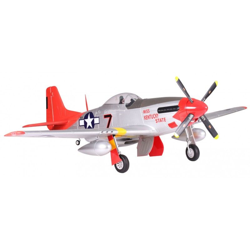 P-51 Red PNP 1700 mm (FMS)