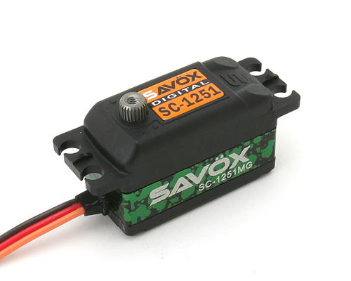 Savox Brushless Servo SC-1251 MG