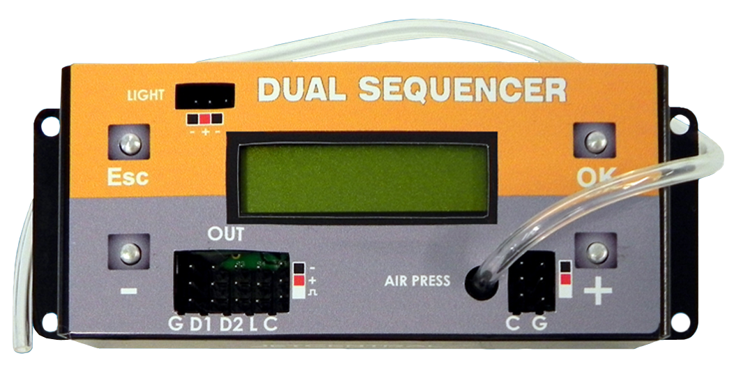Dual Sequencer Gear and Canopy