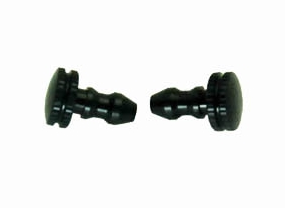 Fuel line plugs (Black)