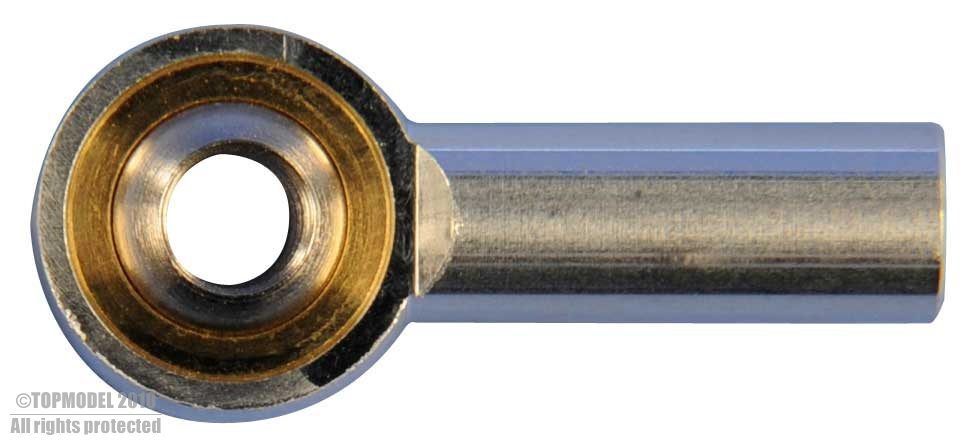 Ball link Aluminio M3 (6 uds) 27x11.9x5.9 mm